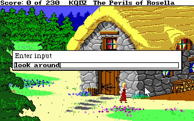 King's Quest IV User Interface Screenshot